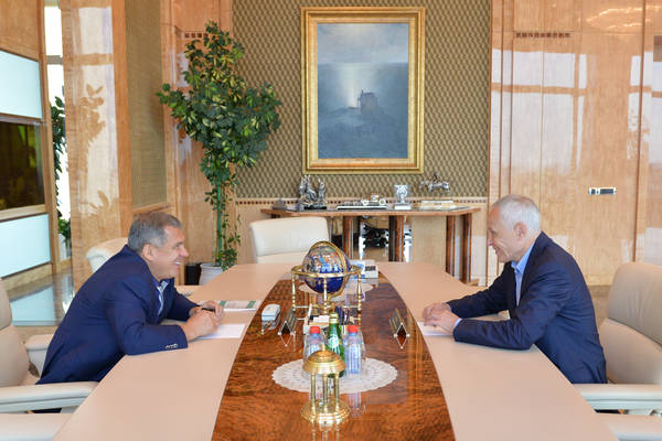 Meeting of Tatarstan President Rustam Minnikhanov with State Secretary