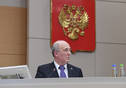 Extended video-conference of the Volga Region Office of Federal Service for Environmental, Technological, and Nuclear Supervision. Tatarstan President Rustam Minnikhanov and Head of Federal Service for Environmental, Technological, and Nuclear Supervision Aleksei Aleshin are taking part.