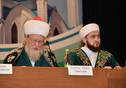 "Plenary session of the eighth All-Russian Forum of Tatar Religious Figures ""National identity and religion"". Tatarstan President Rustam Minnikhanov is taking part."