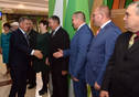 Solemn event dedicated to the Day of Workers of Agriculture and Processing Industry. Tatarstan President Rustam Minnikhanov is taking part.