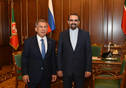 Meeting of Tatarstan President Rustam Minnikhanov with Ambassador of the Islamic Republic of Iran to Russia Mehdi Sana'i