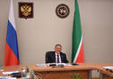 Meeting of the Supervisory Board of the Directorate for Sports and Social Projects held by Deputy Prime Minister of Russia Vitaly Mutko. Tatarstan President Rustam Minnikhanov is taking part.