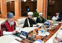 Meeting on the functioning of the Bolgar Islamic Academy held by Tatarstan President Rustam Minnikhanov.